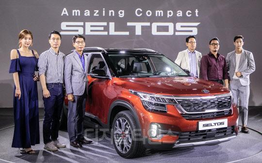 [포토] 글로벌 전략 소형 SUV 셀토스 공식 출시